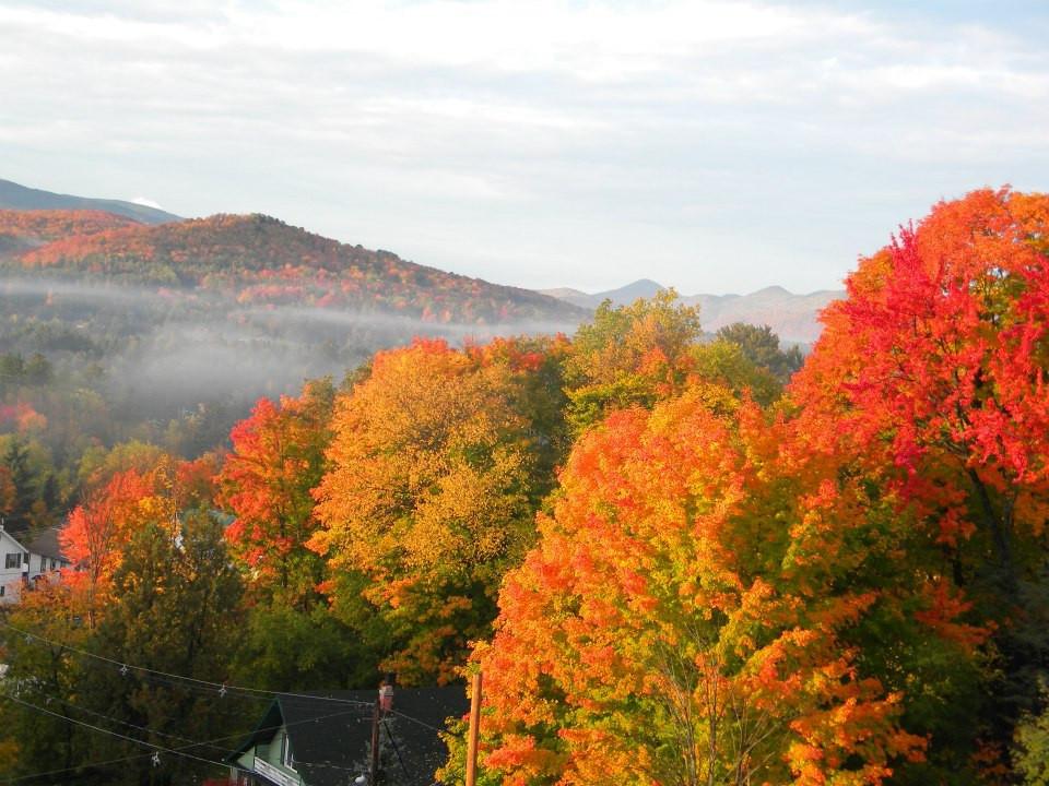 Adirondacks in Fall