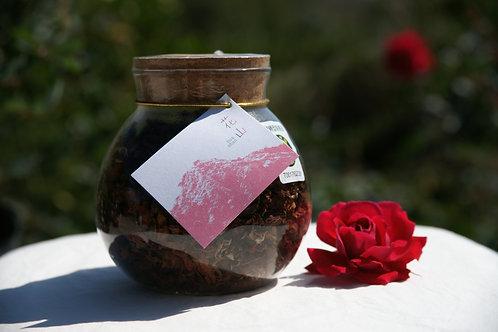 有機玫瑰花茶 35g/15g 玻璃罐裝