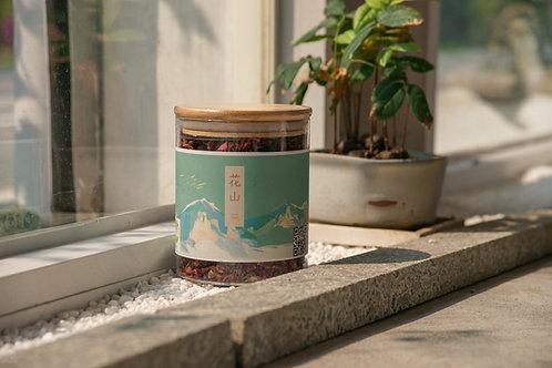 有機玫瑰花茶 50g 玻璃罐裝