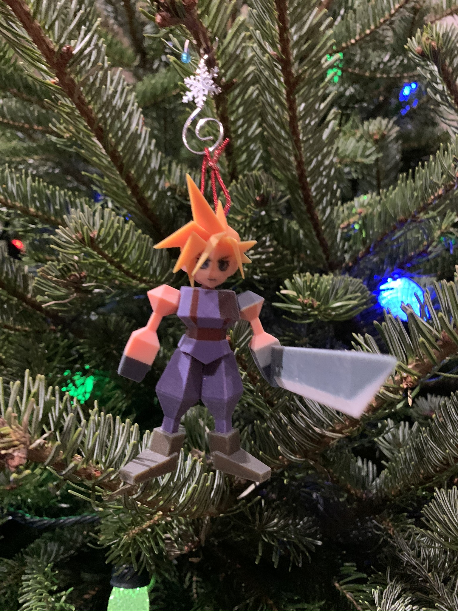 FF VII Ornament (Cloud)