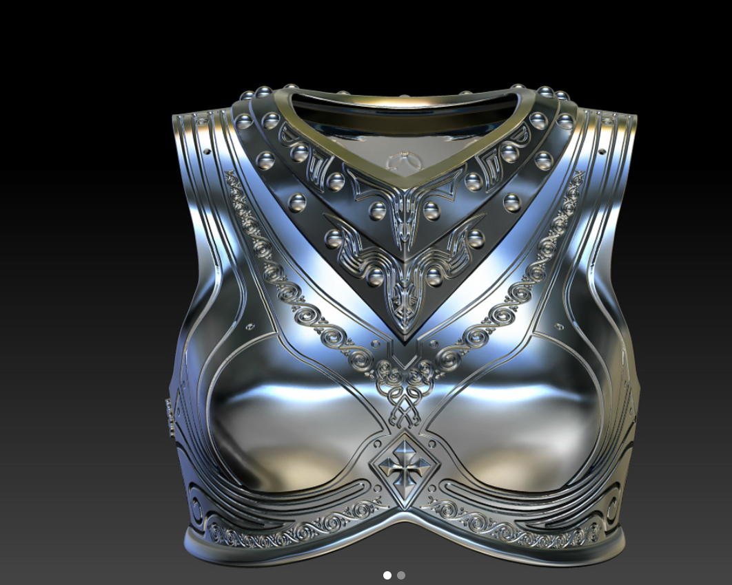 Render of Breastplate