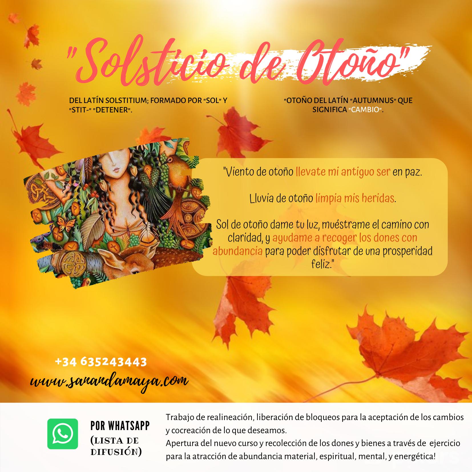 Ceremonia de Solsticio de otoño