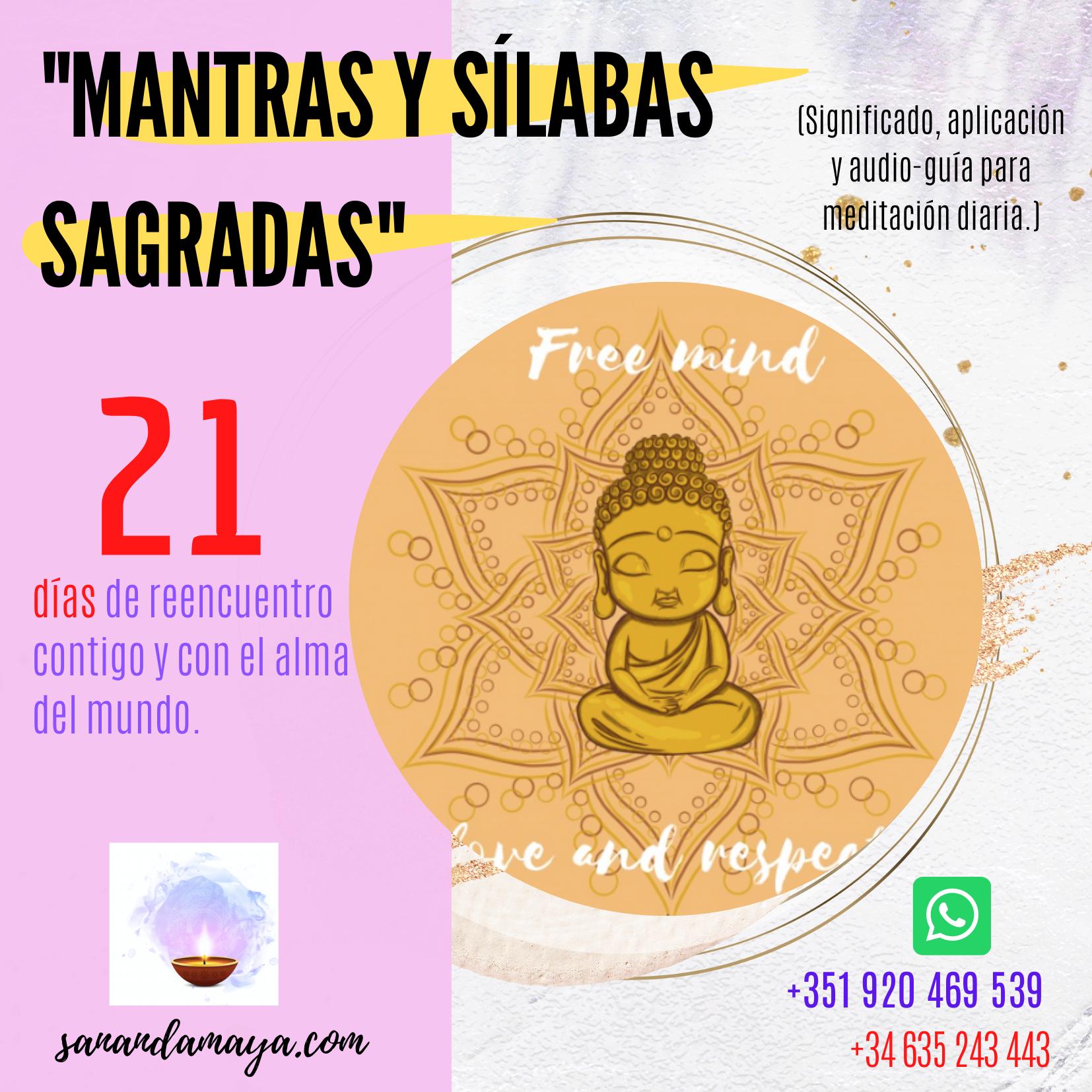 Reto 21días Mantras y sílabas sagradas I