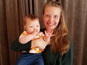 """""""Yogan har hjälpt mig komma tillbaka efter förlossningen"""""""