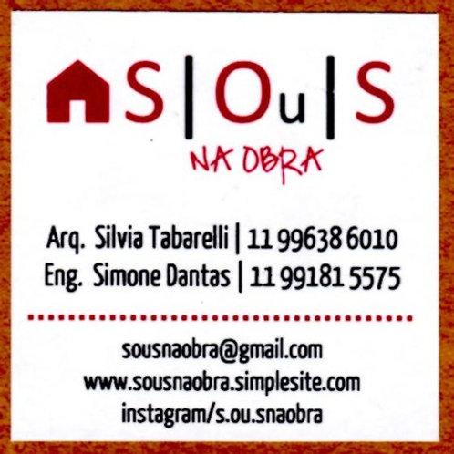 S┃Ou ┃S - Na obra - Silvia Tabarelli
