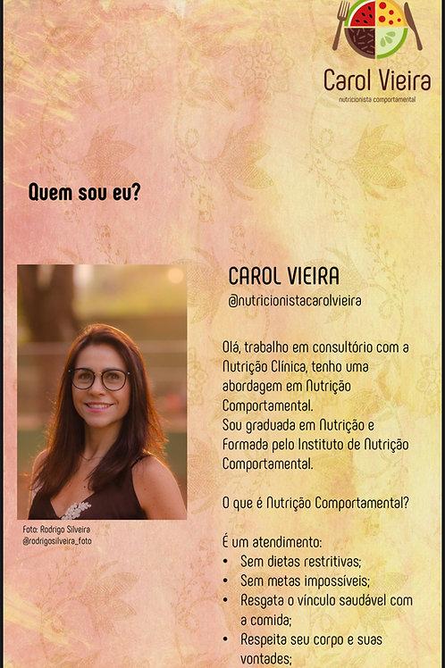 Nutricionista - Carol Vieira