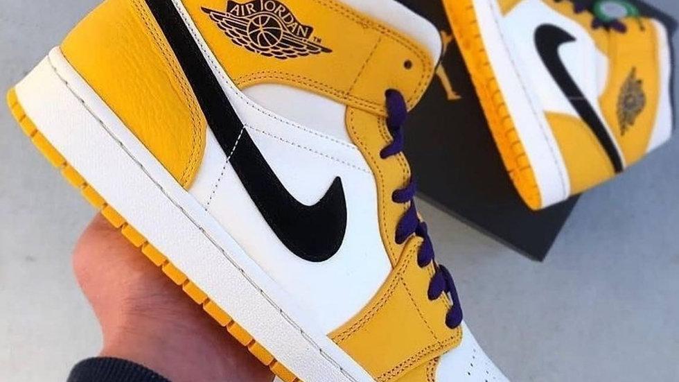 "Nike Air Jordan 1 Mid ""Lakers"""