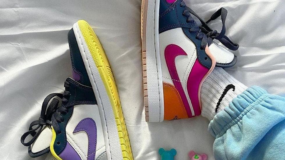 """Nike Air Jordan 1 Low """"Purple Magneta"""""""