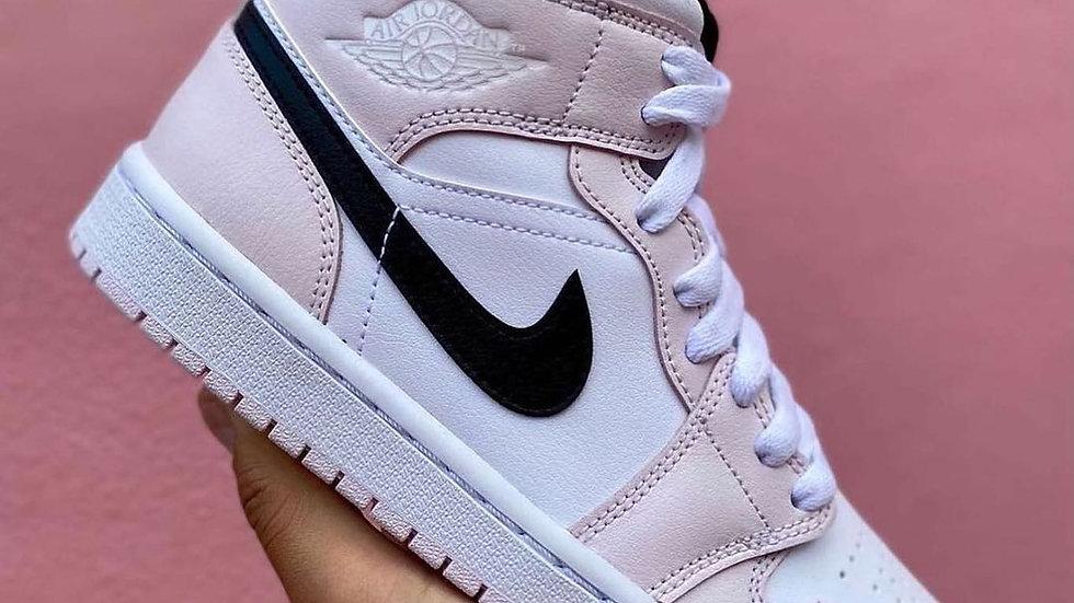 """Nike Air Jordan 1 Mid """"Barely Rose"""""""