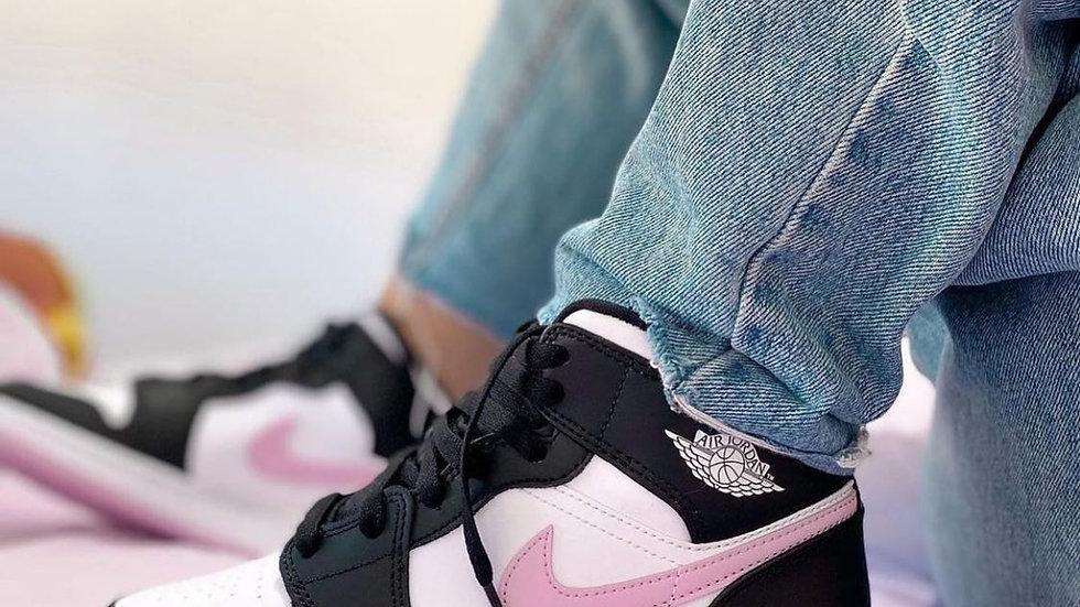"""Nike Air Jordan 1 Mid """"Artic Pink"""""""