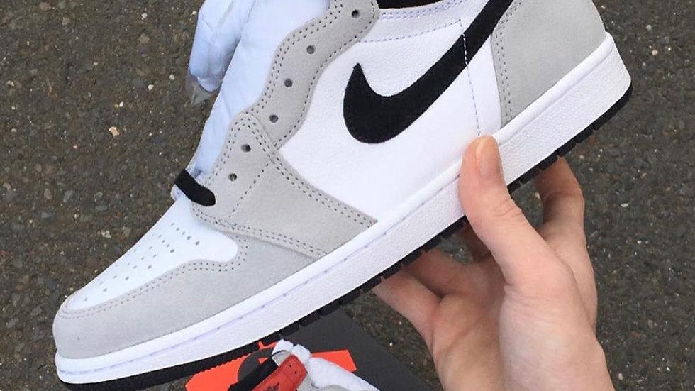 "Nike Air Jordan 1 High ""Light Smoke Grey"""
