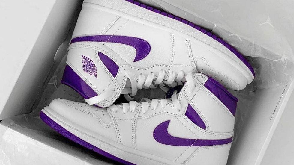 "Nike Air Jordan 1 High ""Court Purple"""