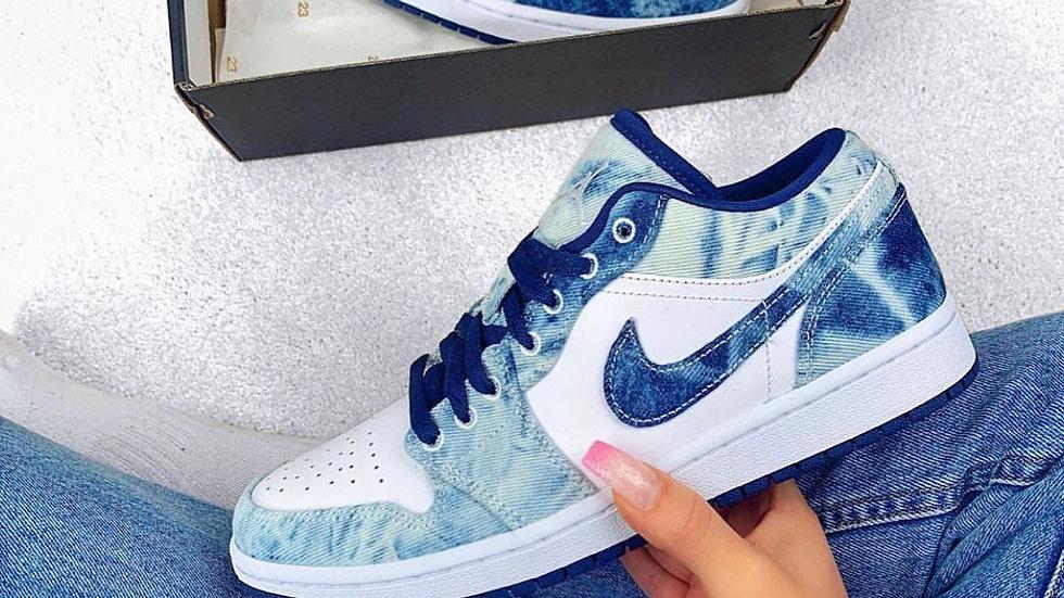 "Nike Air Jordan 1 Low ""Washed Denim"""