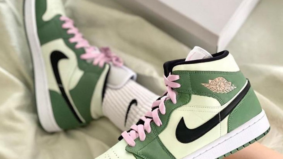 "Nike Air Jordan Mid ""Dutch Green"""
