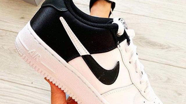 "Nike Air Force 1 ""Split"" black and white"