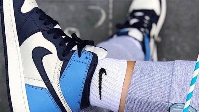 """Nike Air Jordan 1 """"Obsidian"""""""