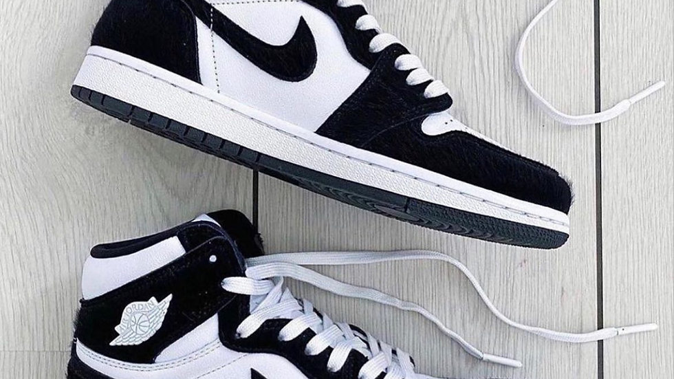 "Nike Air Jordan 1 ""Panda"" Furry"