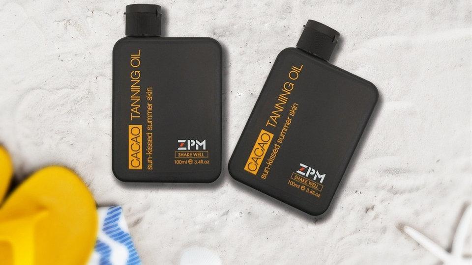 שמן שיזוף קקאו | ZPM Tanning Oil Cacao