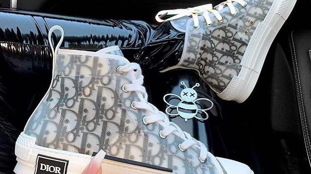 Dior B23 High grey