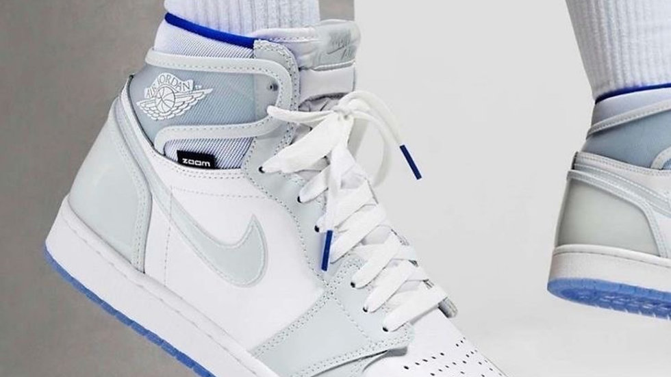 Nike Air Jordan 1 High Zoom White Racer Blue