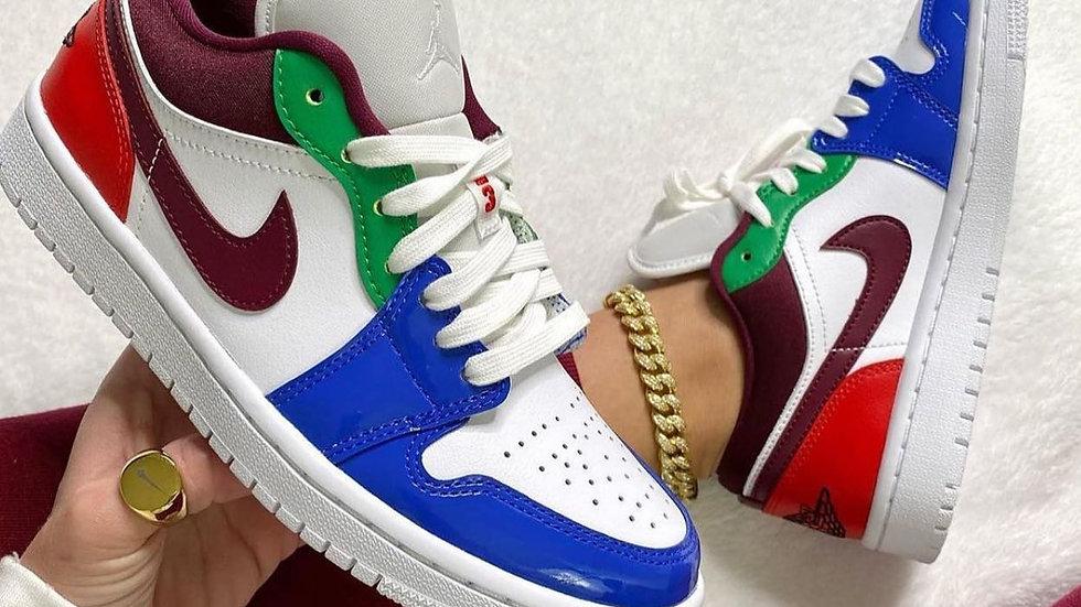 """Nike Air Jordan 1 Low """"Multicolor"""""""