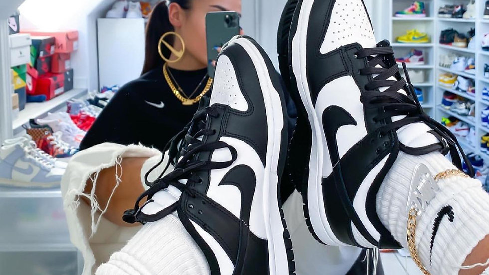 """Nike Dunk Low """"Black and White"""""""