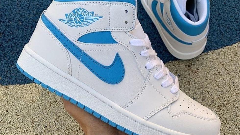"""Nike Air Jordan 1 Mid """"UNC"""""""