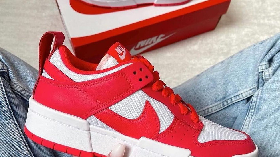 """Nike Dunk Low Disrupts """"Siren Red"""""""