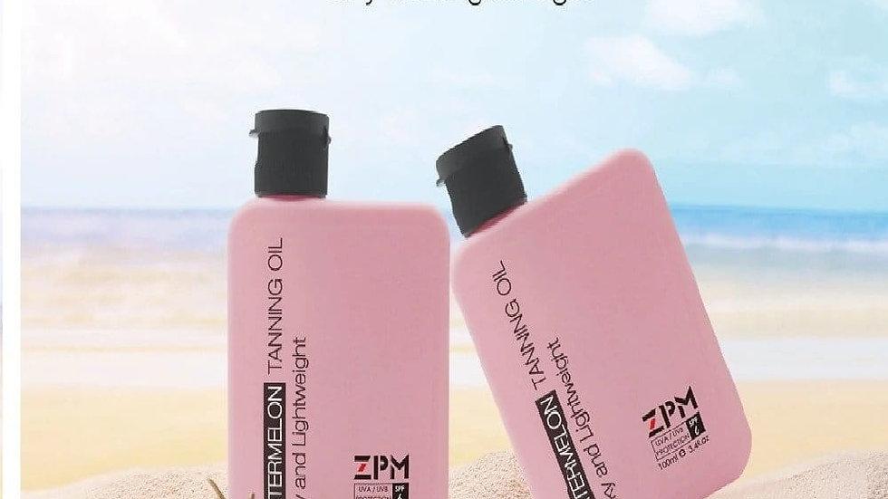 שמן שיזוף אבטיח   ZPM Tanning Oil Watermelon