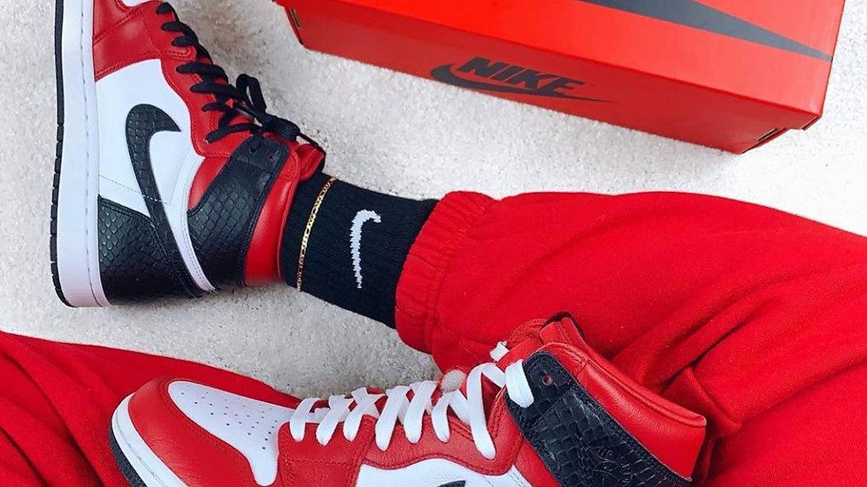 "Nike Air Jordan 1  High ""Satin Snake"""
