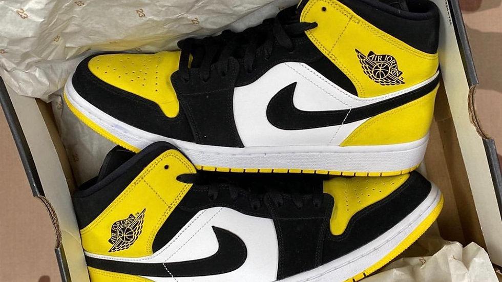 """Nike Air Jordan 1 """"Yellow Toe"""""""