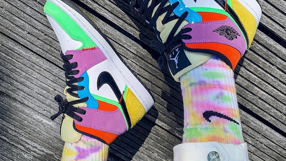 "Nike Air Jordan 1 Mid ""Multicolor"""