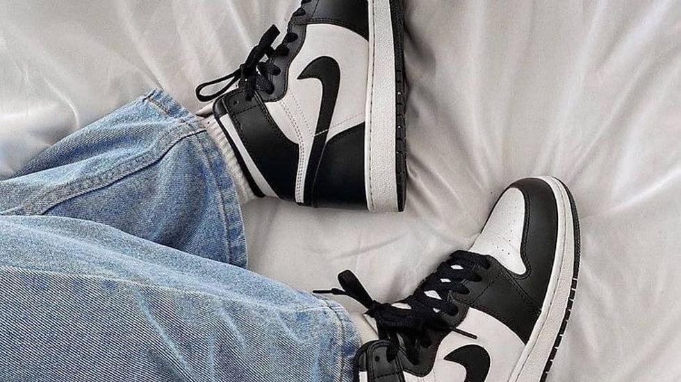 "Nike Air Jordan 1 ""Panda"" Leather"