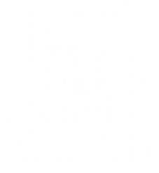 The Oyster Farmers Daughter Logo White O