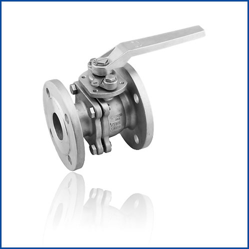 2PC FLANGED BALL VALVE(JIS)