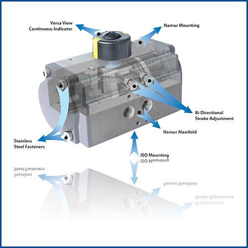 αC Aluminium Alloy Actuator