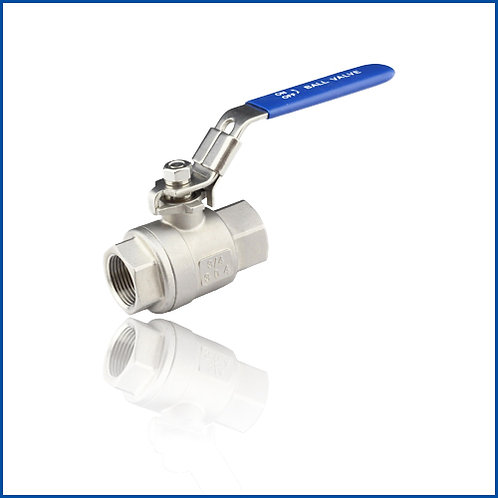 2PC BALL VALVE 2000WOG