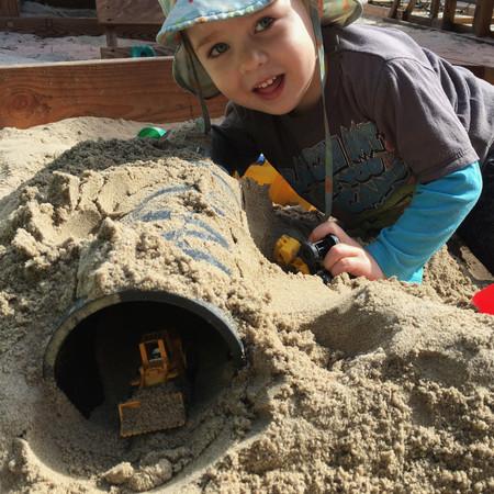Encinitas Preschool Sand Play