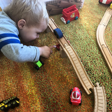 Problem solving with trains