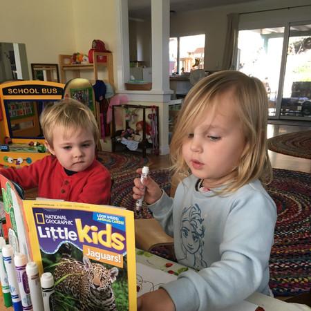 Encinitas Preschool Art Study