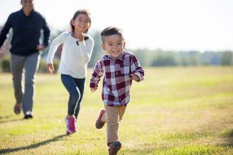 Child Support - Children running