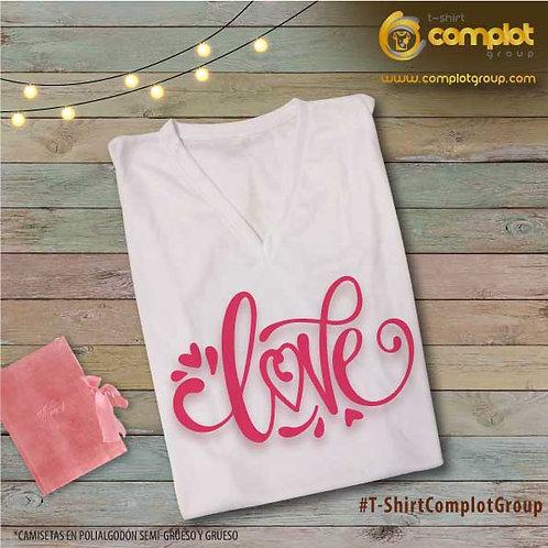 """Camisetas Chicas """"Love"""" 3"""