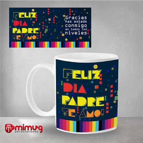 """Mug Papá """"Retro"""""""