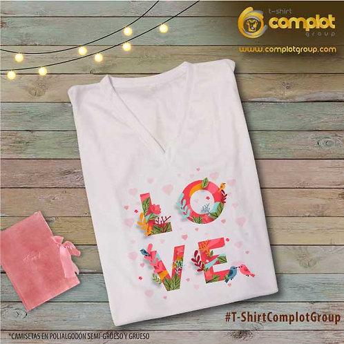 """Camisetas Chicas """"Love"""" 2"""