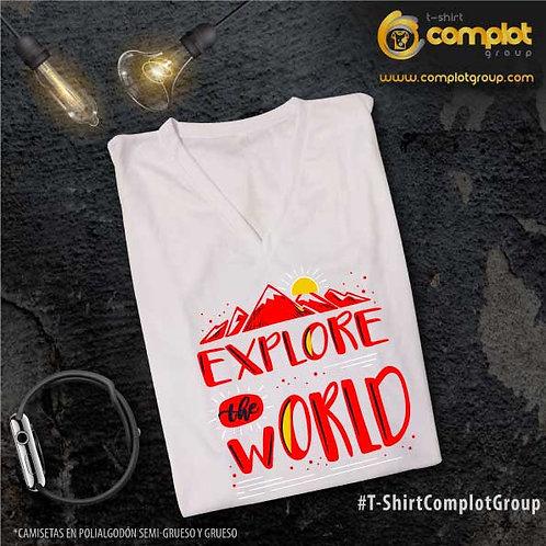 """Camisetas Chicos """"Explore"""""""