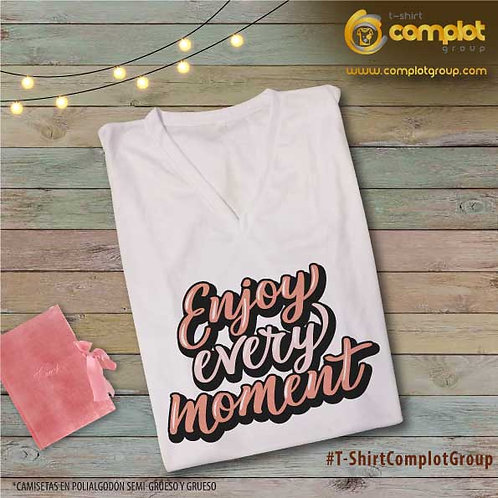 "Camisetas Chicas ""Enjoy"""