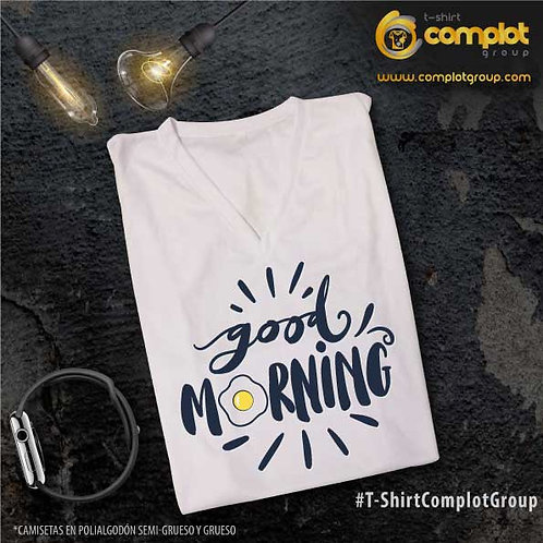 """Camisetas Chicos """"Goog Morning"""""""