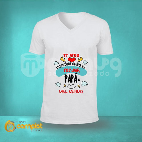 """Camisetas Papá """"Mejor Papá"""""""