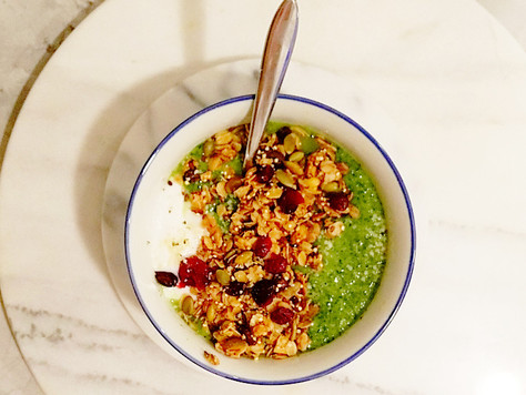 Pear & Kale Smoothie Bowl