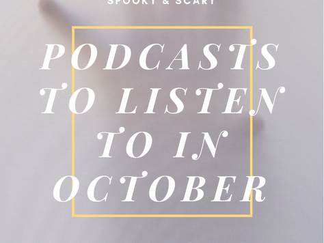 The Best Spooky & Scary Podcasts for October